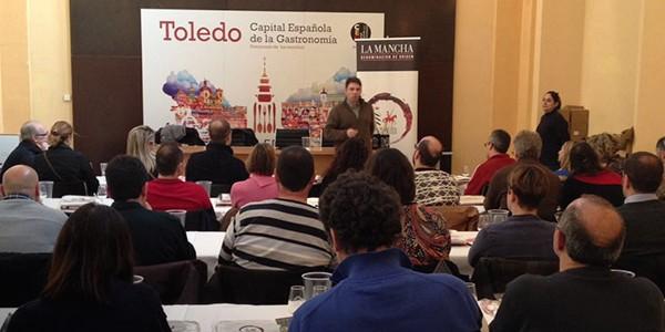 Cabecera Degusta Toledo Cata de Vinos DO La Mancha