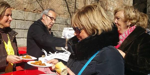 Degustación de carcamusas en Toledo
